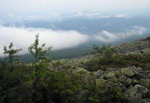 На ослянских облаках: Облака над Ослянкой. (фотография №1)