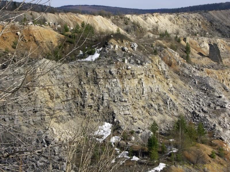 Каменный карьер города Чусовой: Каменный карьер города Чусовой (фотография №28)