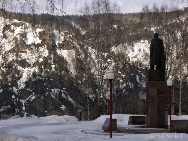 Город Дивногорск: заснеженная сказка: Город Дивногорск (фотография №2)