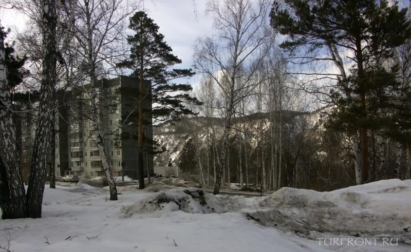 Город Дивногорск: заснеженная сказка: Город Дивногорск (фотография №5)