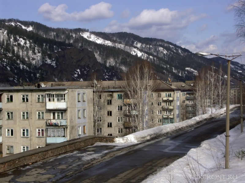 Город Дивногорск: заснеженная сказка: Город Дивногорск (фотография №22)