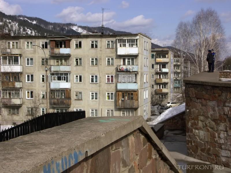 Город Дивногорск: заснеженная сказка: Город Дивногорск (фотография №24)