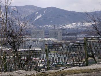 Панорама Красноярска в окружении величественных гор. | Фото 1