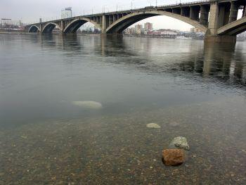 Мост через реку Енисей в Красноярске. | Фото 1