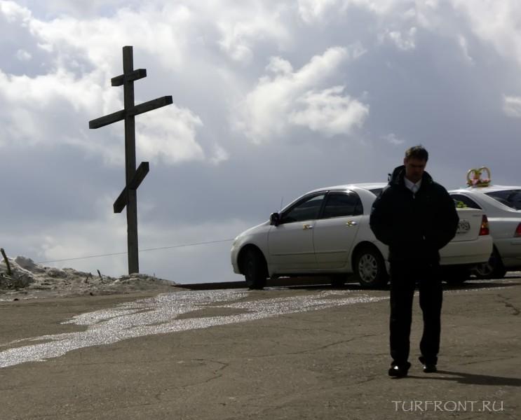Три дня в Красноярске: Перед часовней Параскевы Пятницы (та, что на десятирублевке). (фотография №26)