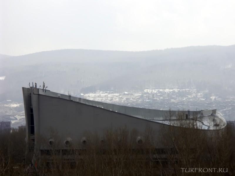 Три дня в Красноярске: Город Красноярск, апрель 2010 года (фотография №45)