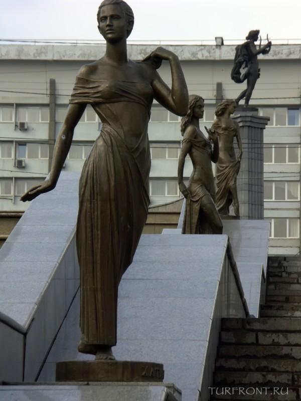 Три дня в Красноярске: Город Красноярск, апрель 2010 года (фотография №52)