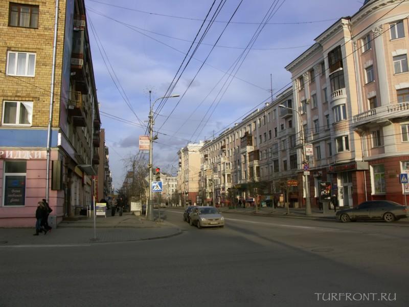Три дня в Красноярске: Город Красноярск, проспект Мира. (фотография №7)