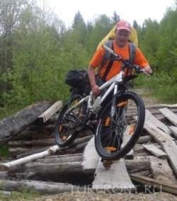 Там, где танку хорошо, велосипеду - погибель: Велосипеду не пройти (фотография №1)