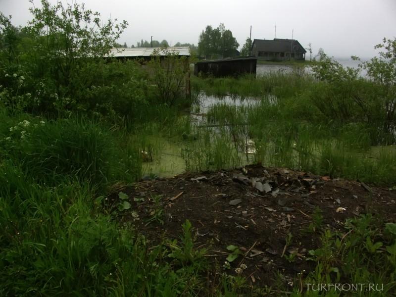 Ночевка в дождливой Сортавале: С палаткой в Сортавале на утесе берега Ладожского озера (фотография №17)