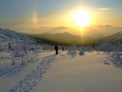 Восход в горах Конжака.   Фото 1